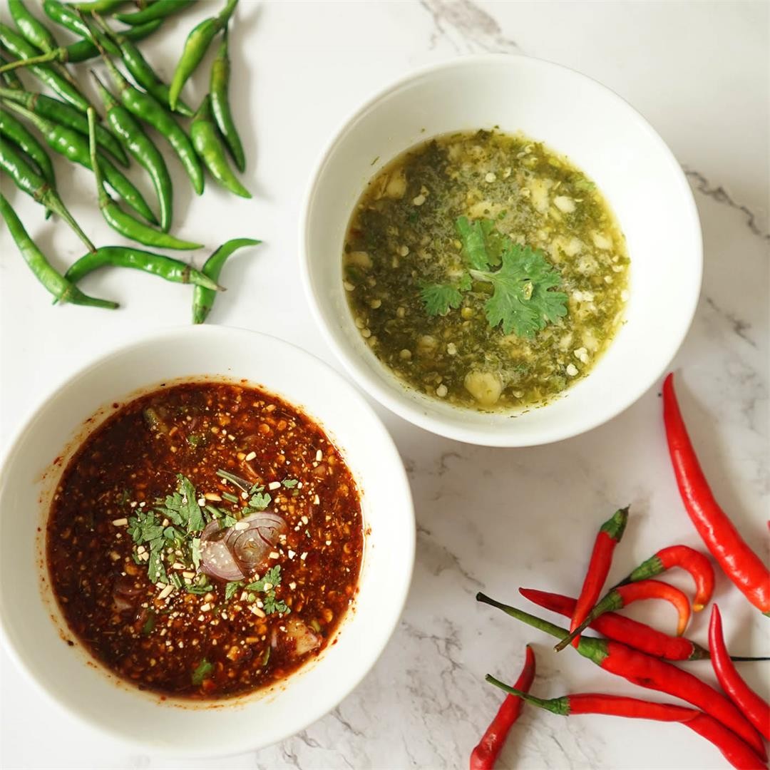 2x must try Thai dipping sauce