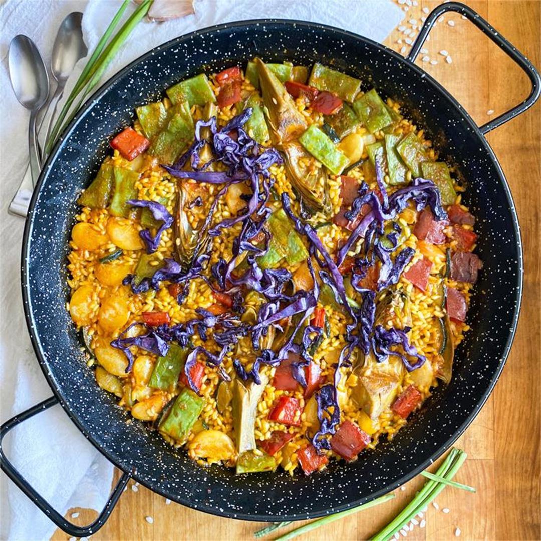 Spanish Paella Recipe from Restaurante La Murciana in Valencia