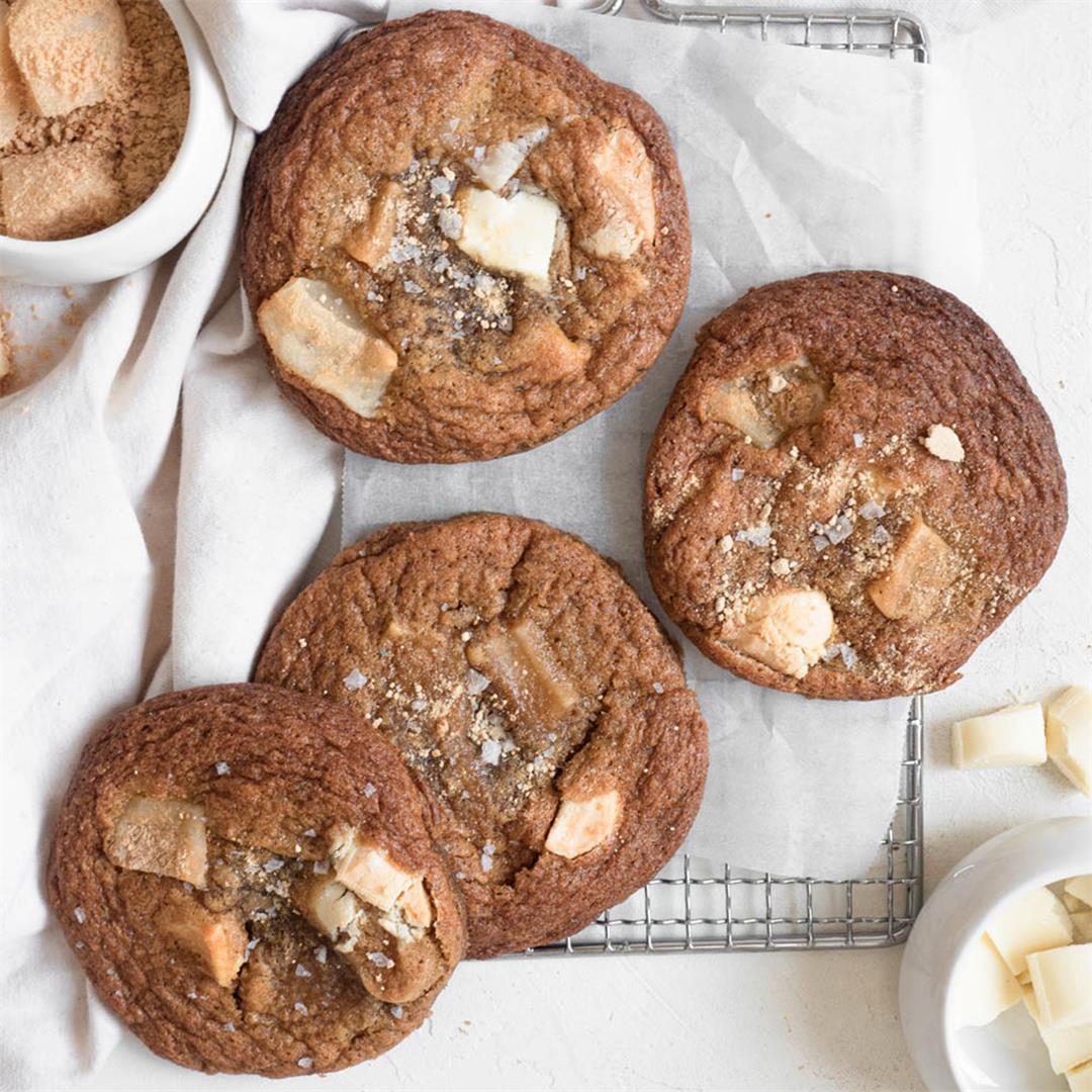 Injeolmi White Chocolate Cookies