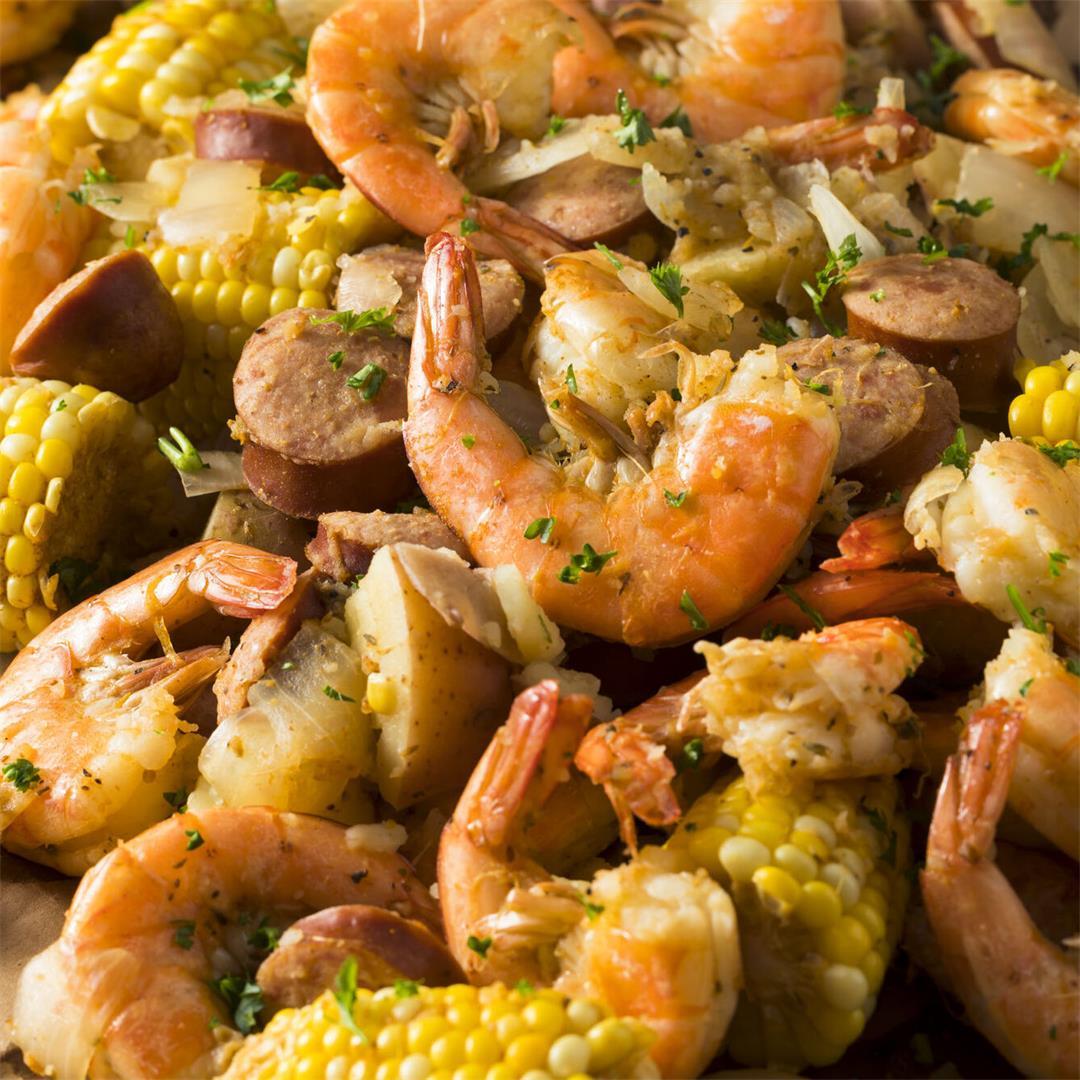 Shrimp Boil Foil Packs Recipe By Creme De La Crumb