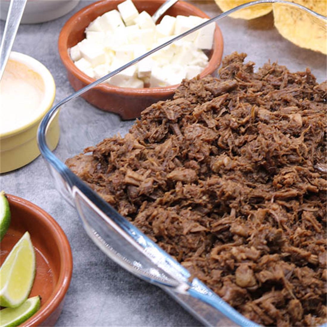 Barbacoa Pulled Beef Tacos