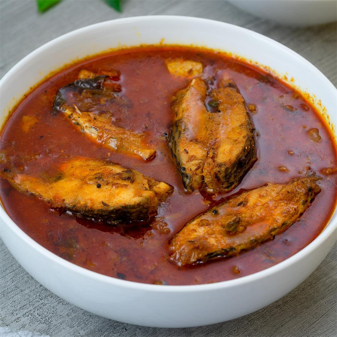 Chepala Pulusu | Fish Curry | Andhra Style