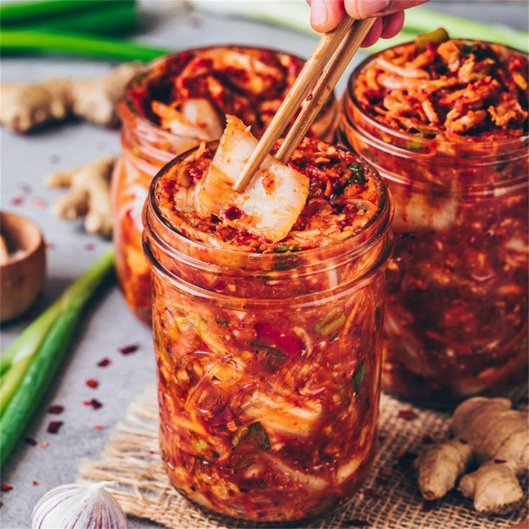 Korean Kimchi (A Traditional Side Dish)