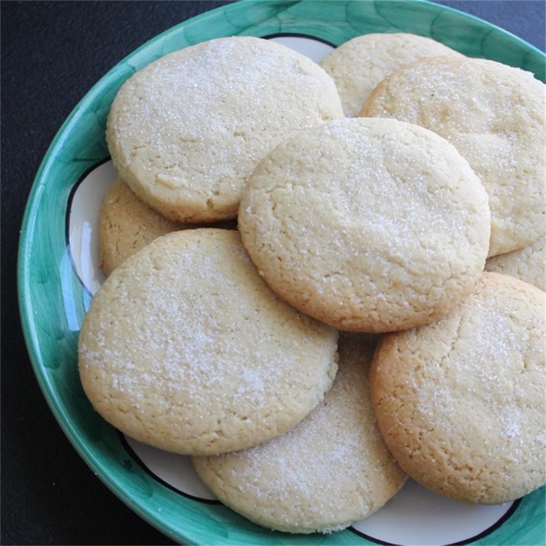Southern Sour Cream Teacakes
