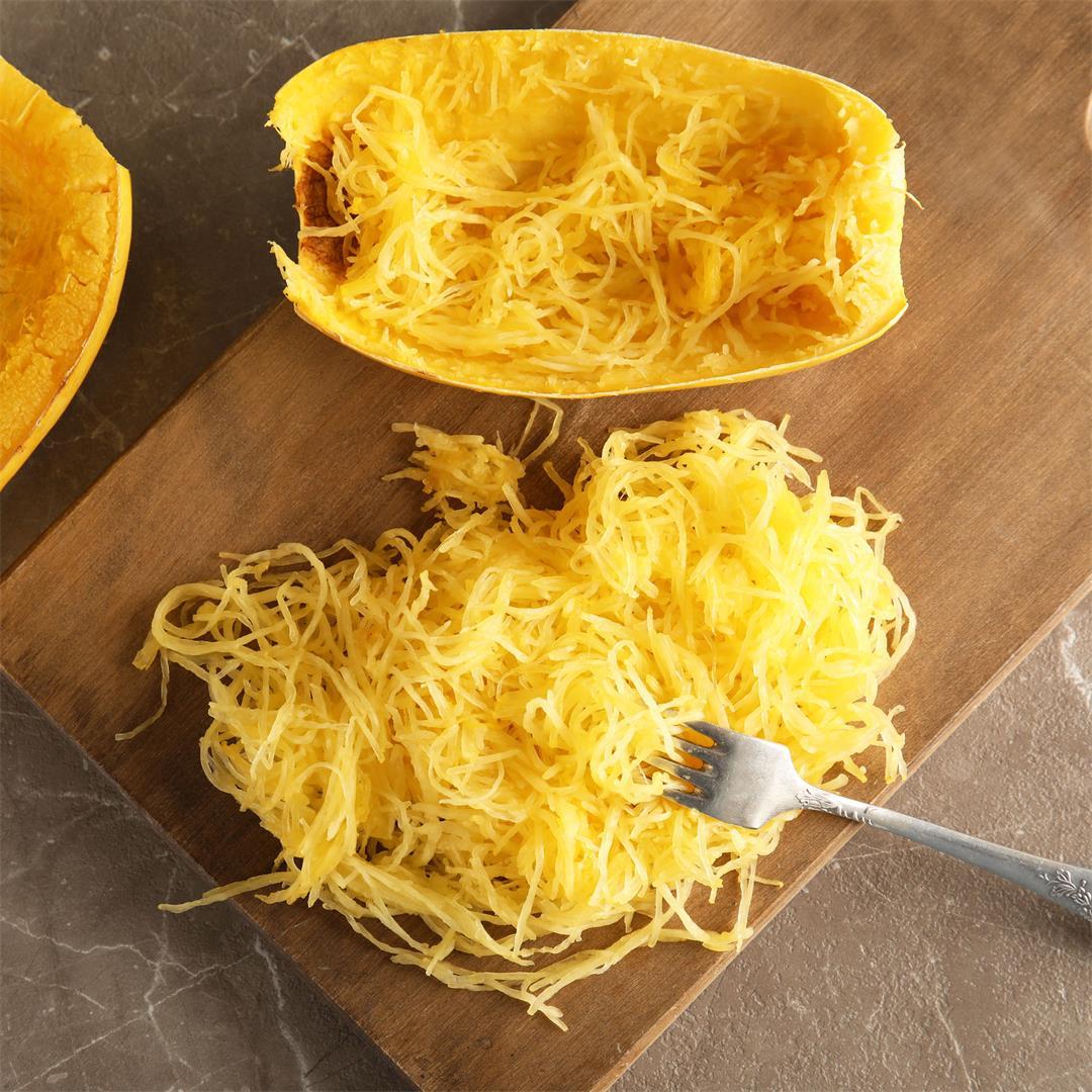 Roasted Spaghetti Squash Recipe By Lisa Bryan