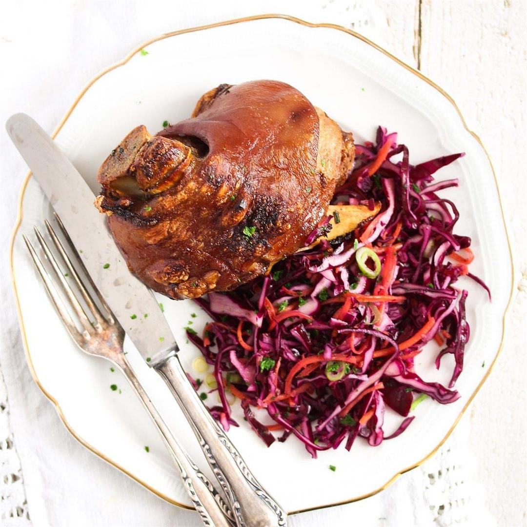 Crispy Pork Hocks (Schweinshaxe Recipe)