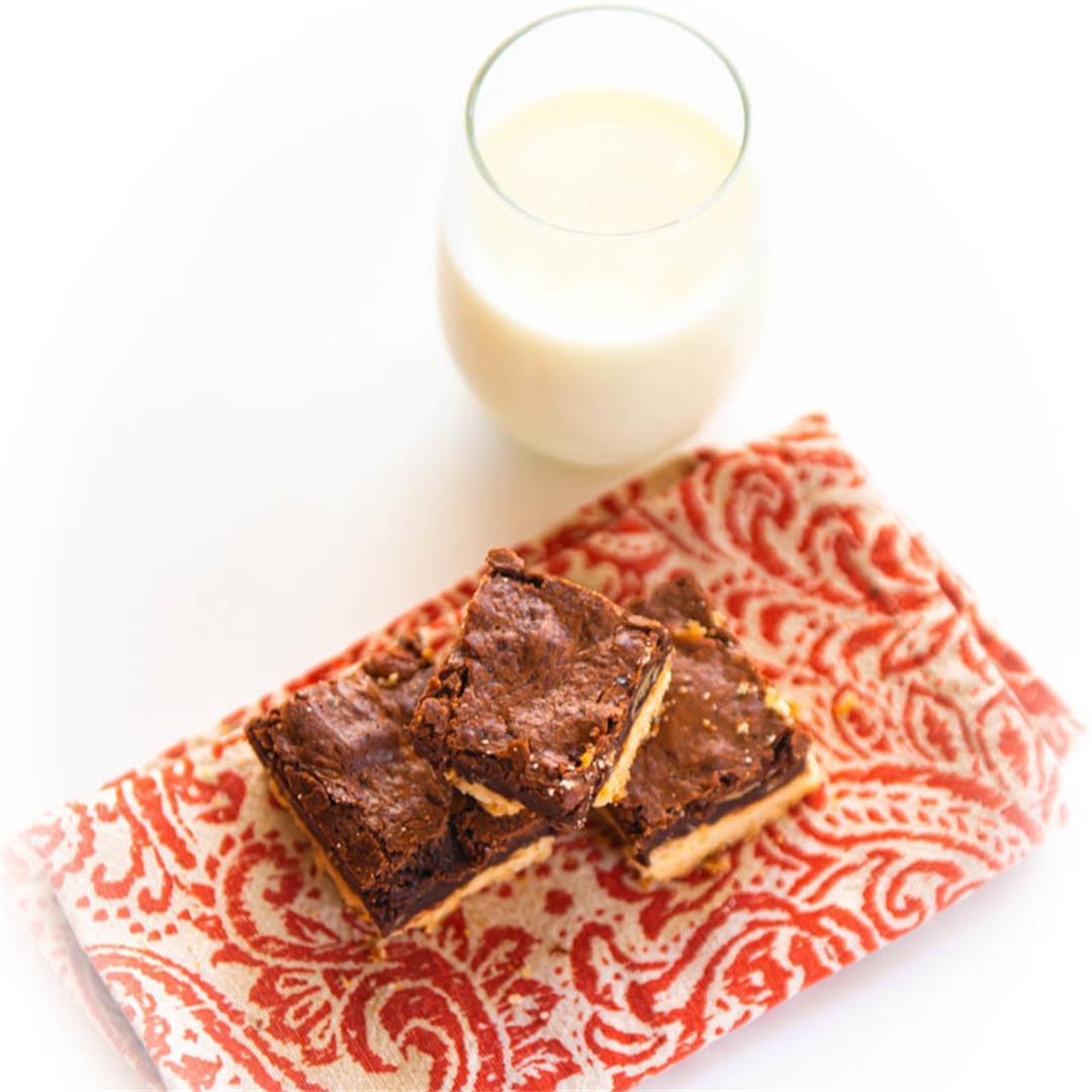 Bittersweet Brownie Shortbread