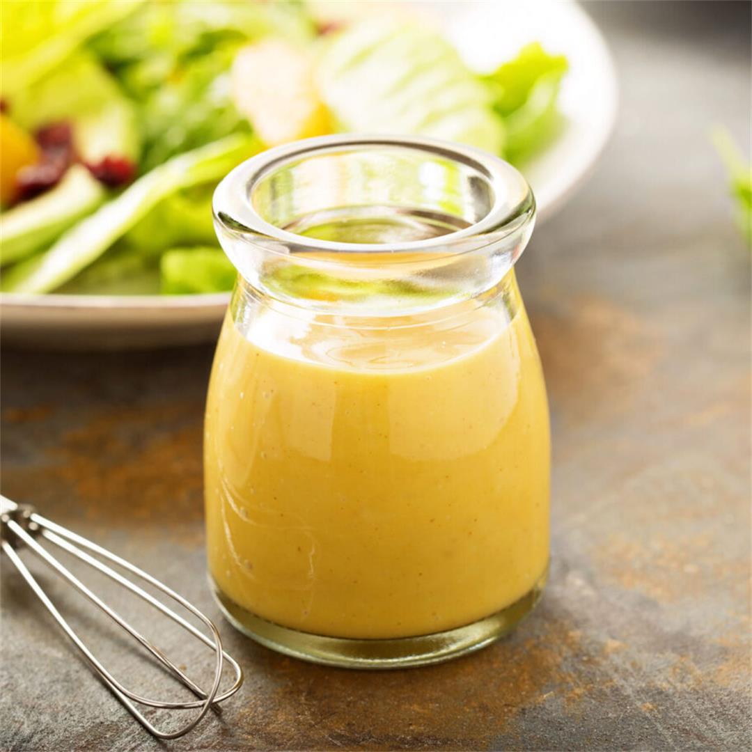 Creamy Homemade Honey Mustard Sauce
