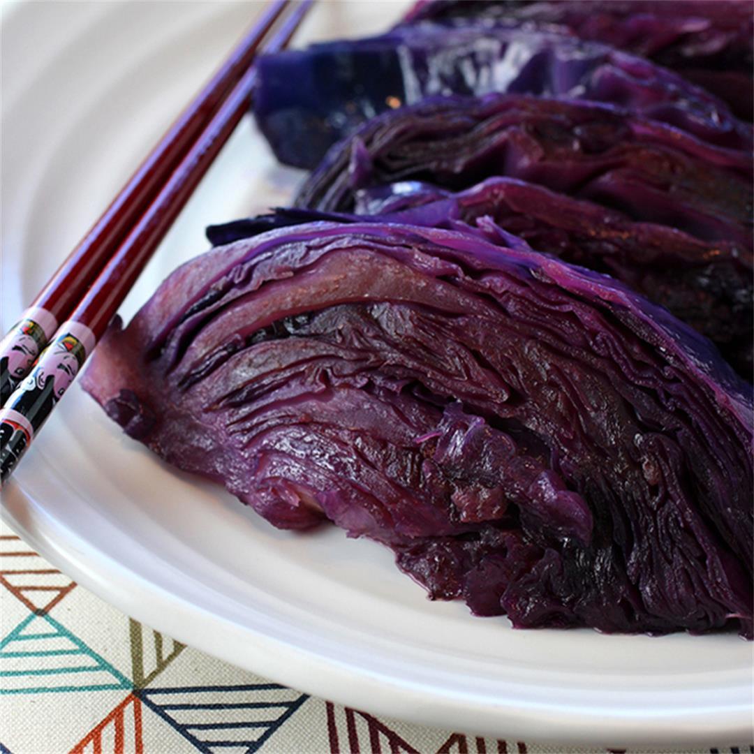 Eric Ripert's soy-glazed cabbage