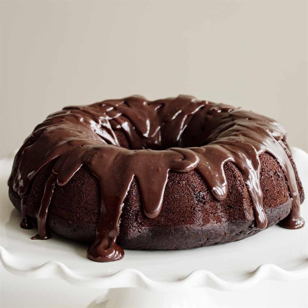 Sourdough Chocolate Cake (With Sourdough Discard)