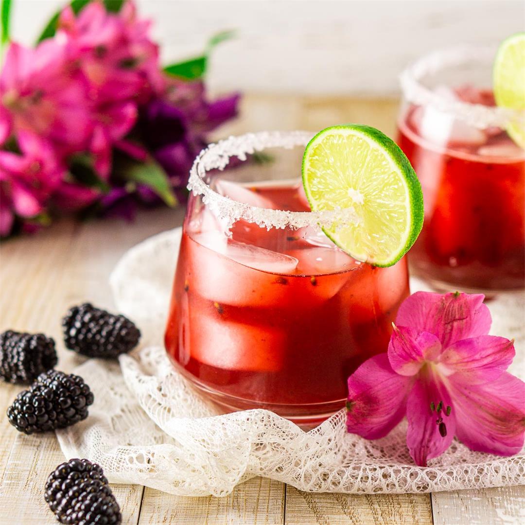 Fresh Blackberry Margarita