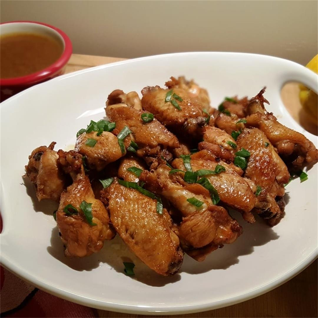 Pressure Cooker Soy Sauce Chicken Wings (or Thighs or Legs)