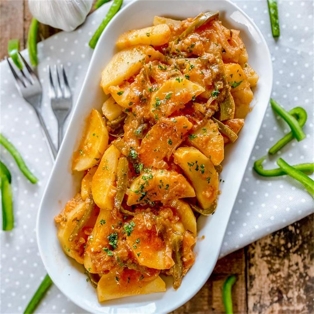Abuela's Home-Style Potatoes | A Traditional Spanish Dish