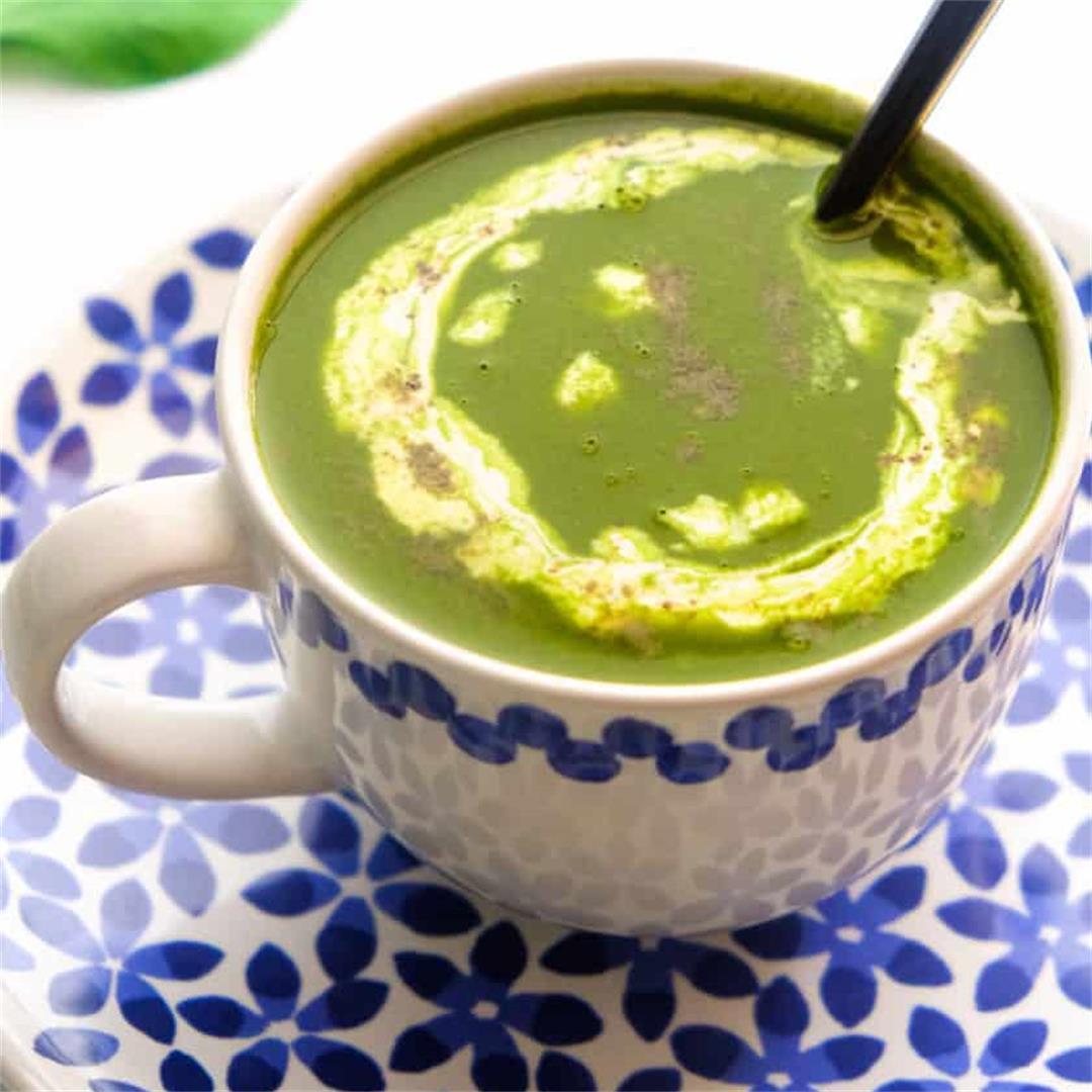 Spinach Soup ( Palak Soup)