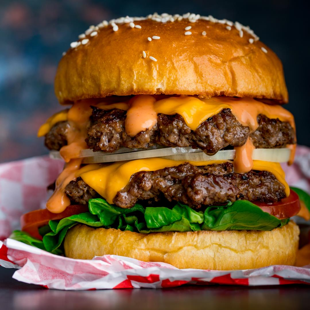The Ultimate Double Cheeseburger