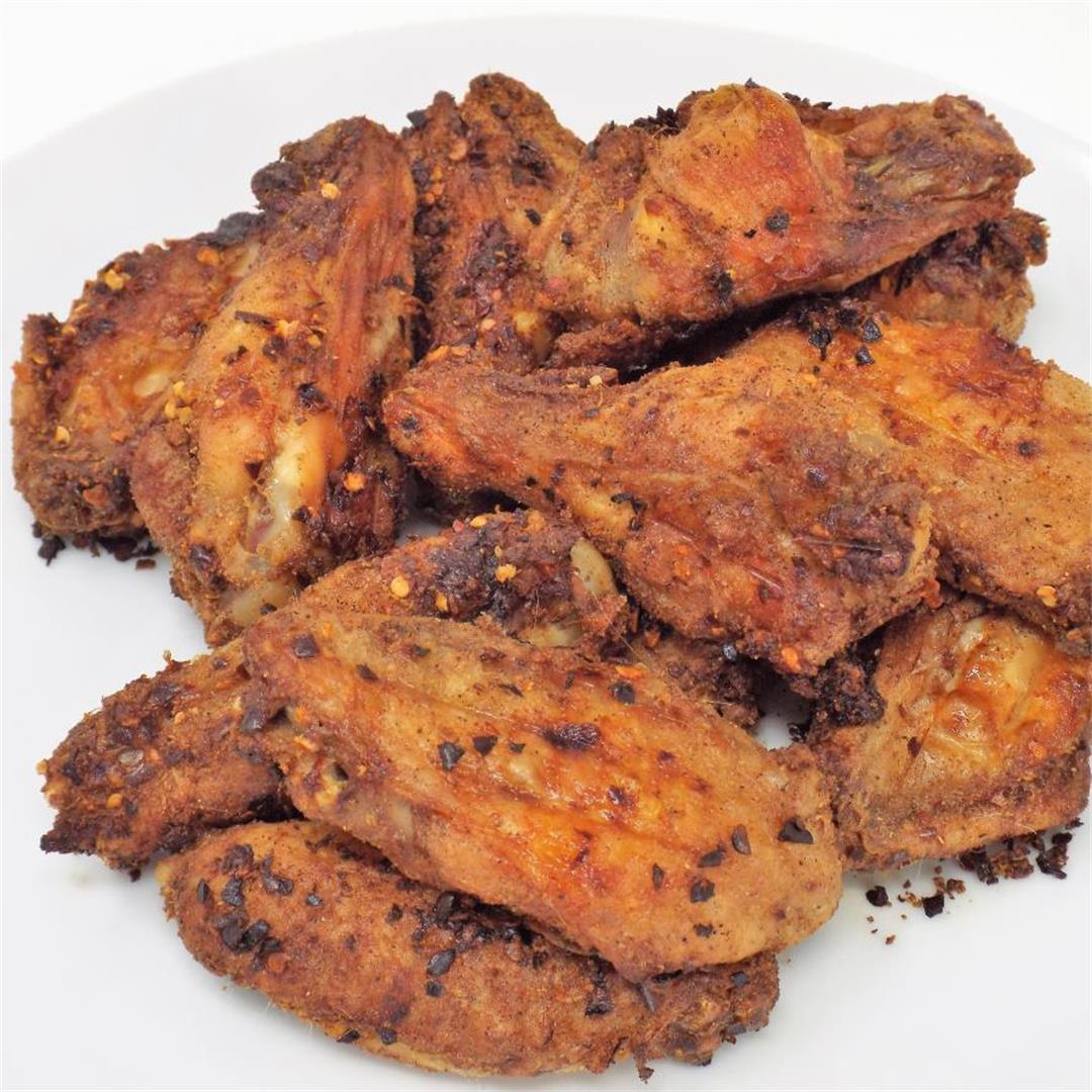 Crispy Baked Berbere Chicken Wings