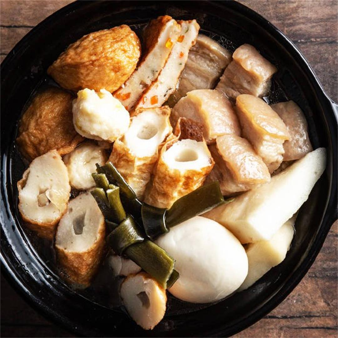How to Make Japanese Oden おでん
