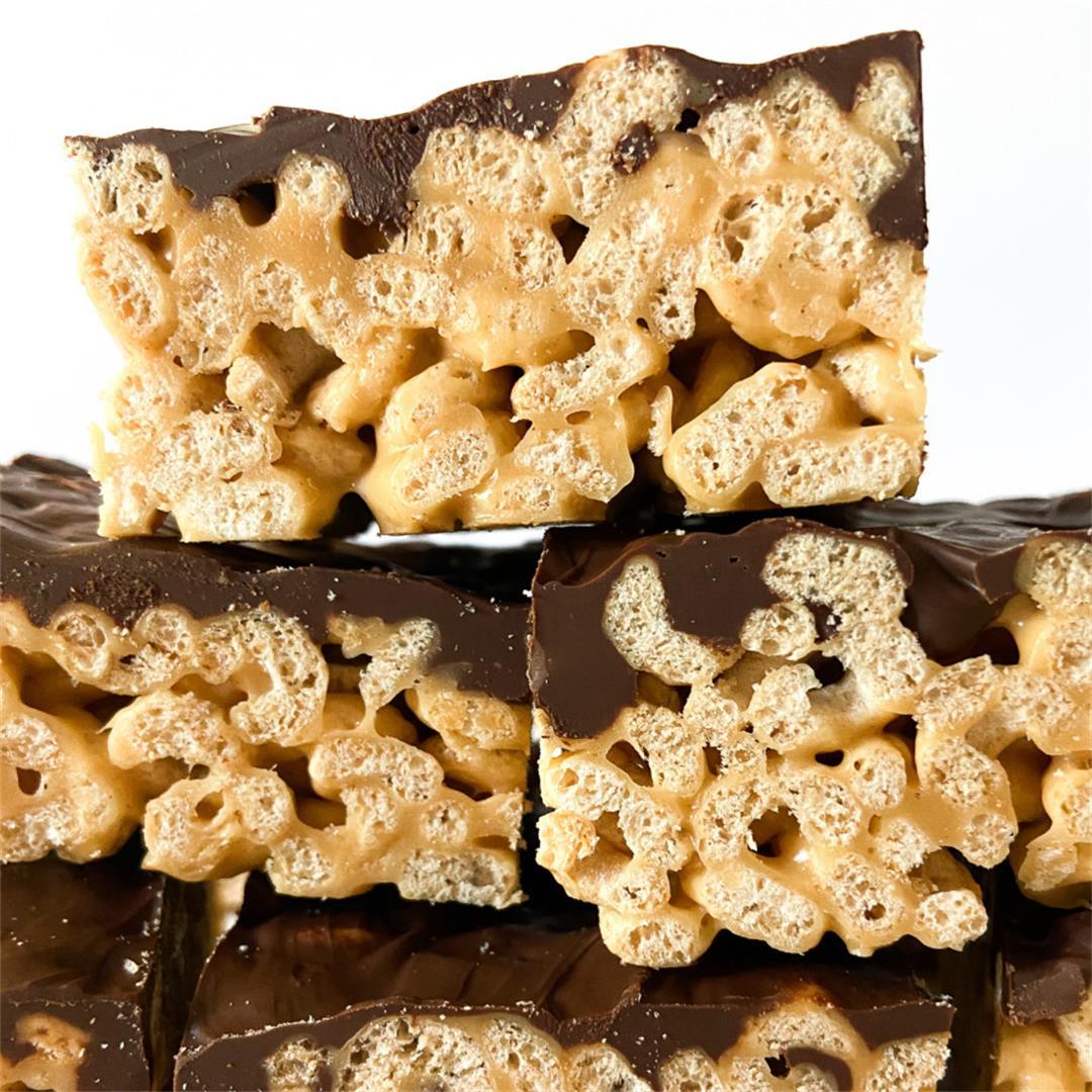 Peanut Butter Cheerio Bars – Sugary Logic