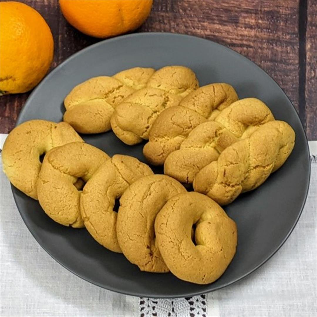 Greek Orange Cookies