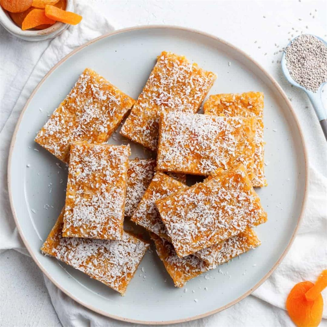 Apricot and Coconut Bars