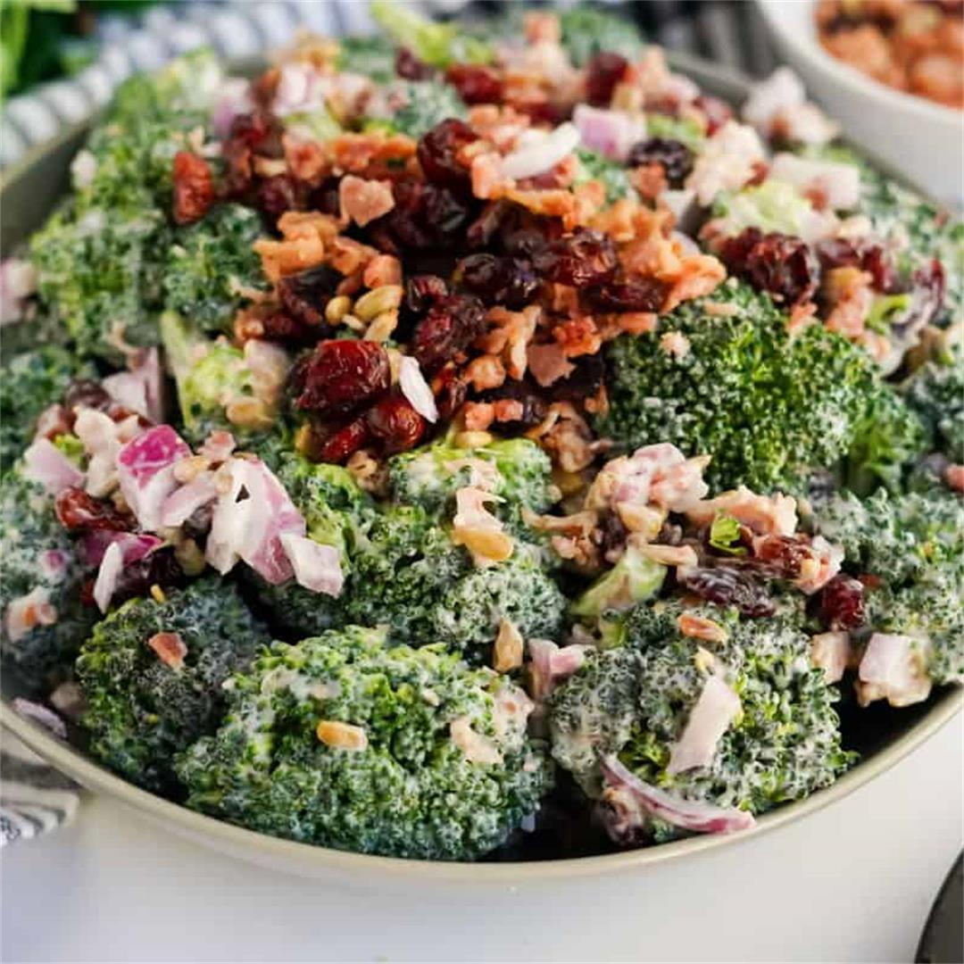 Classic Bacon Broccoli Salad Recipe