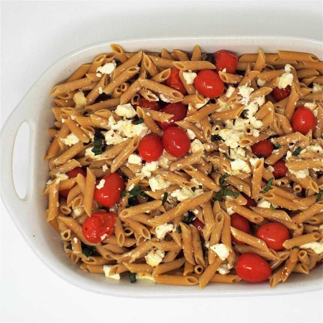 Baked Feta and Tomato Penne (TikTok Pasta)