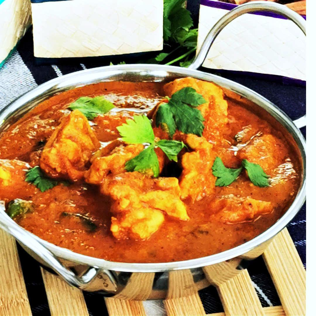 How to make the mouthwatering chicken Madras curry