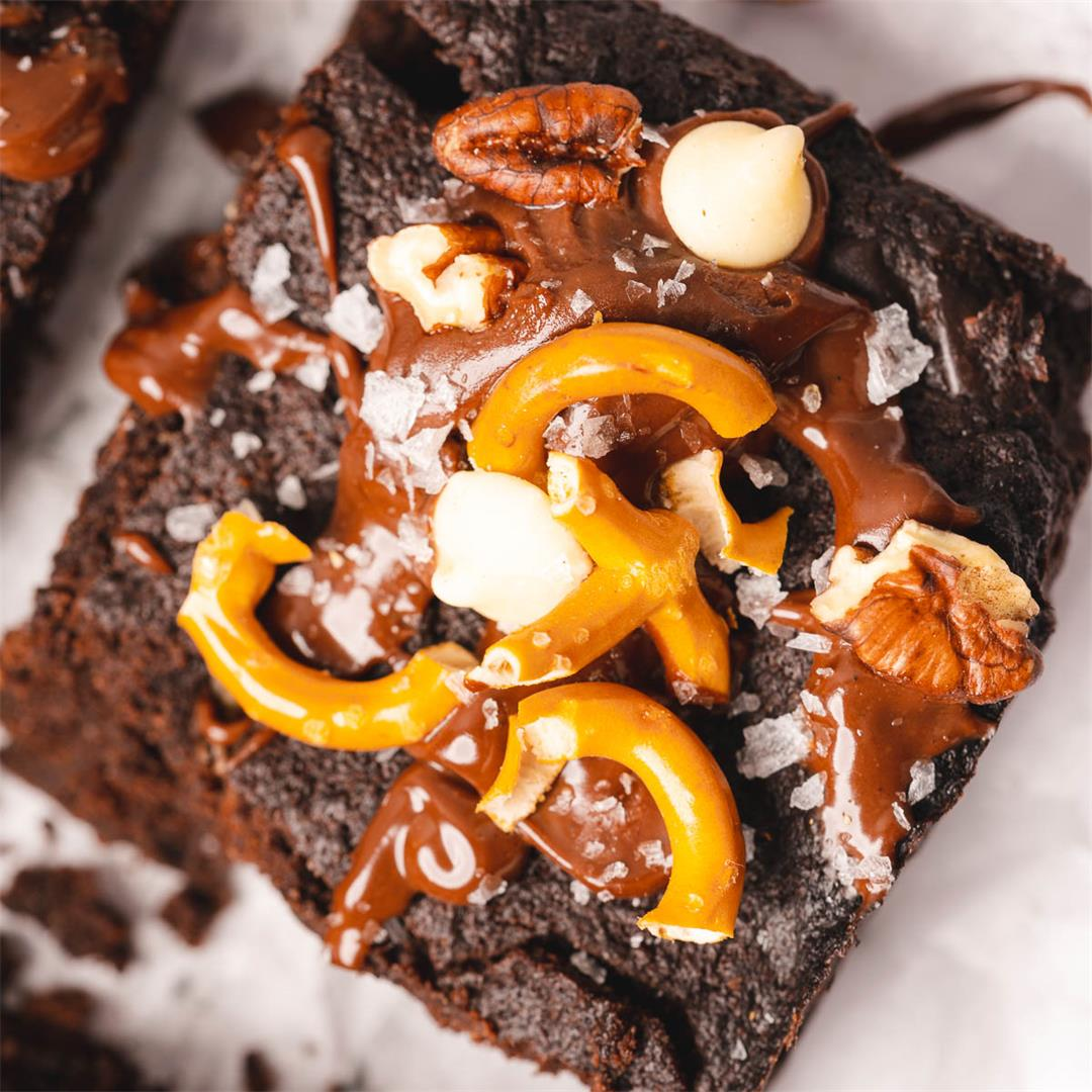 Kitchen Sink Brownies (Low Carb, Gluten Free)