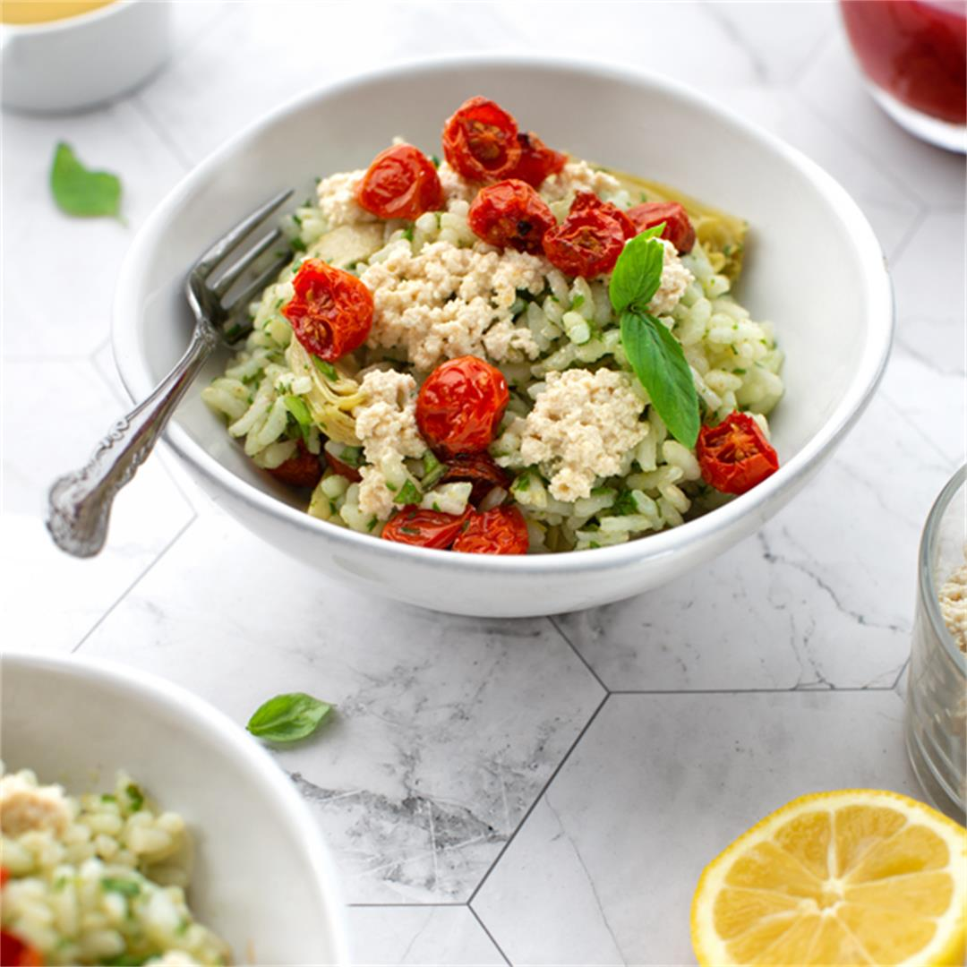Summer Risotto Salad