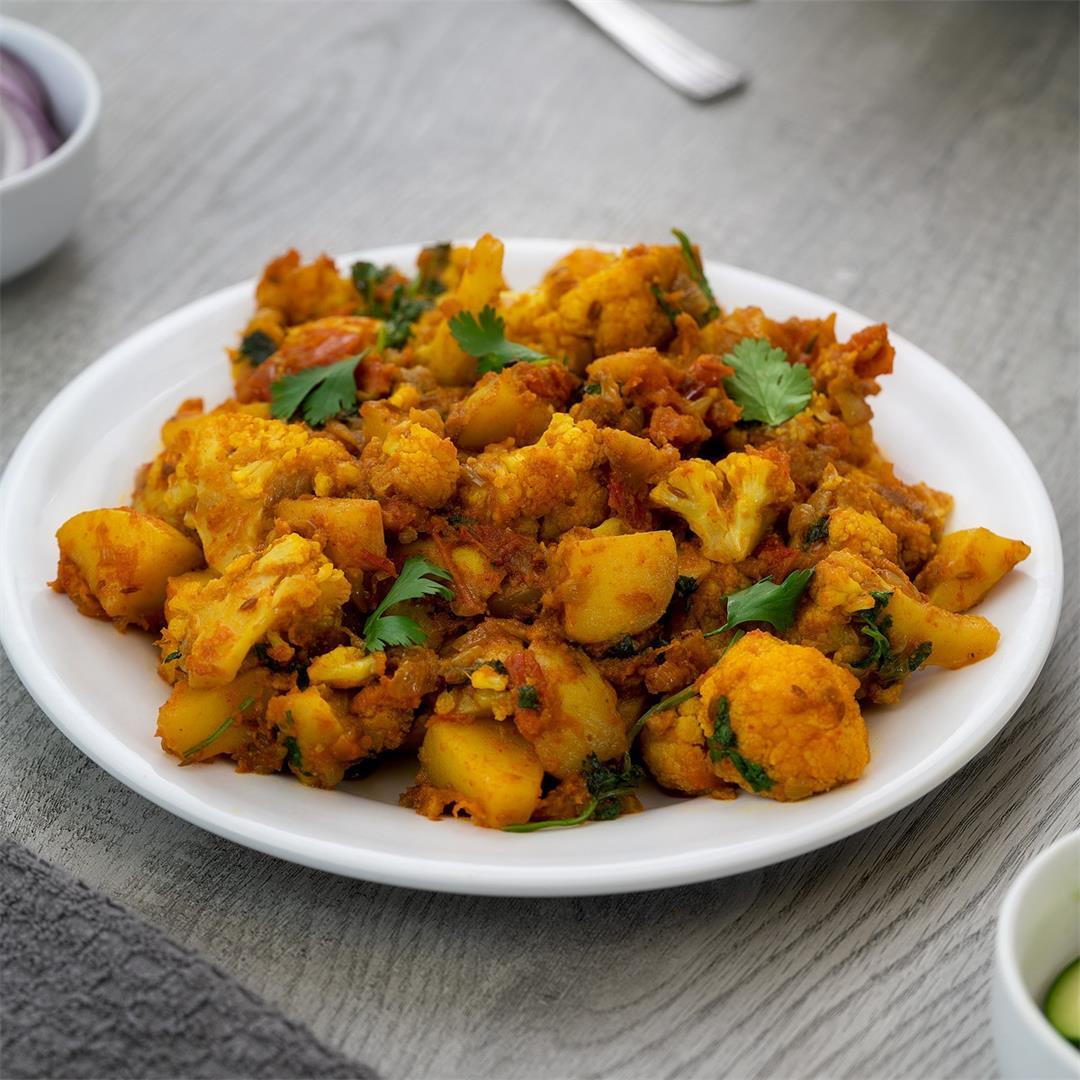 Aloo Gobi Recipe | Cauliflower Potato Masala