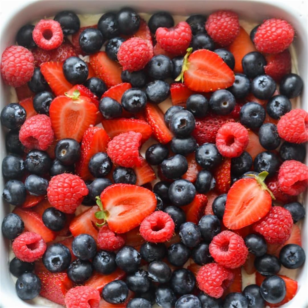 Berry Pretzel Salad