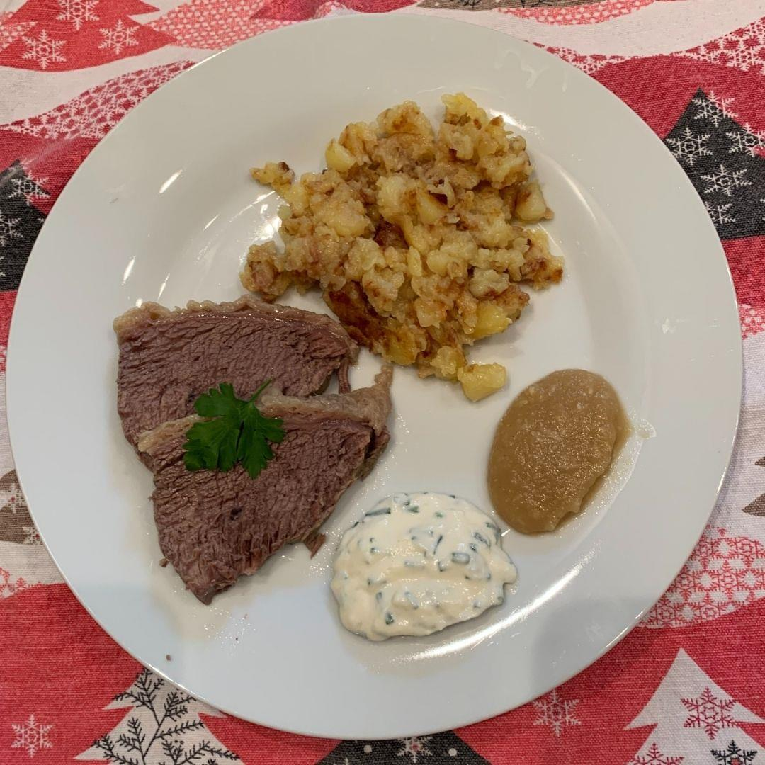 Tafelspitz - Austrian Prime Boiled Beef