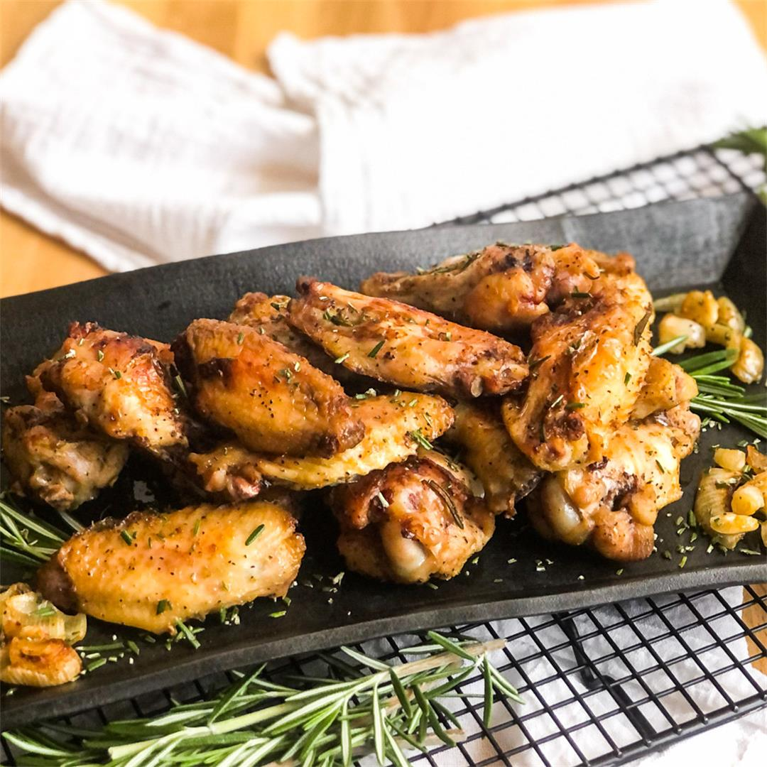Crispy Smoked Chicken Wings