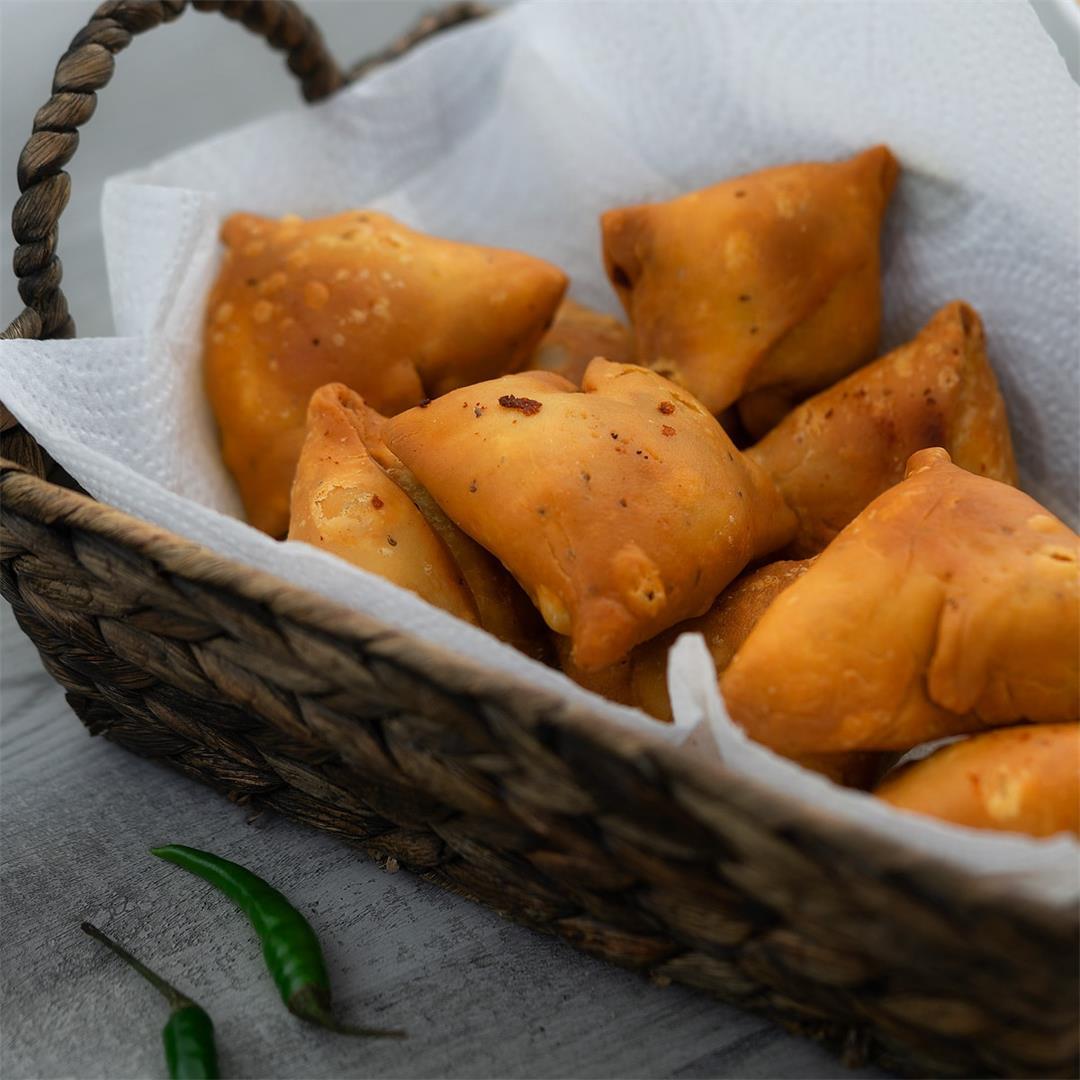 Samosa Recipe with Dough Making