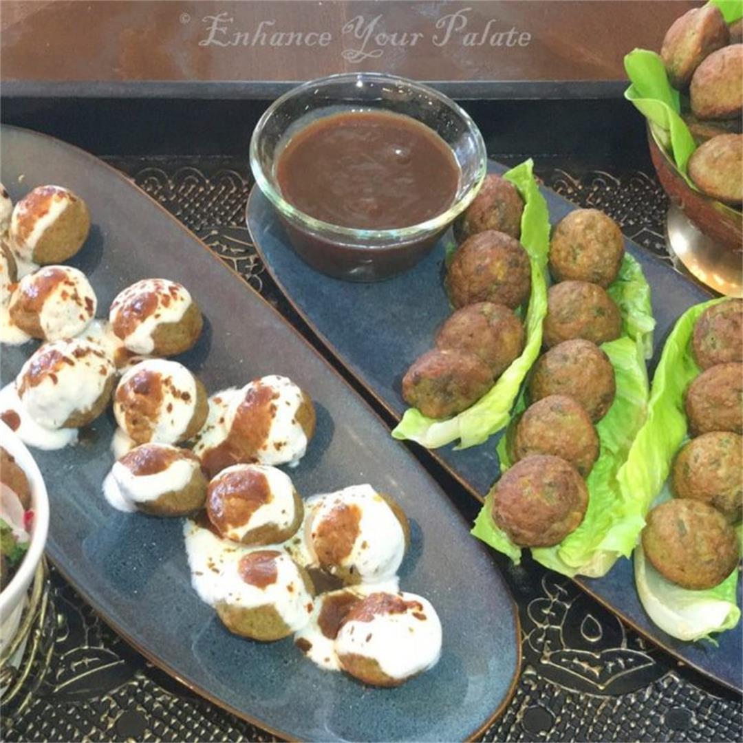 Split Green Gram Lentil Fritters – Mung Dal Vada – Raam Laddu