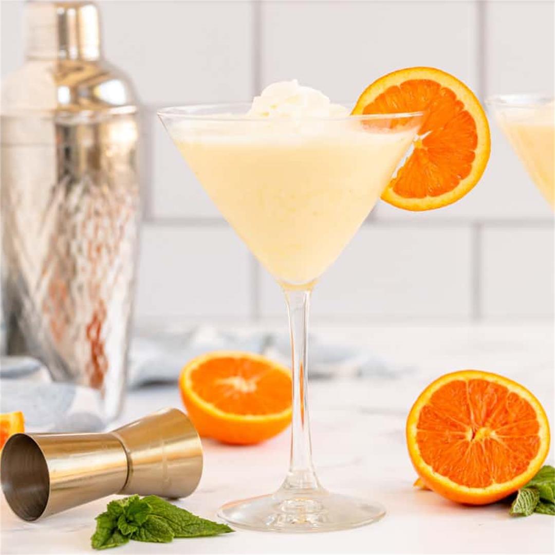 Orange Creamsicle Martini (Adult Orange Julius)