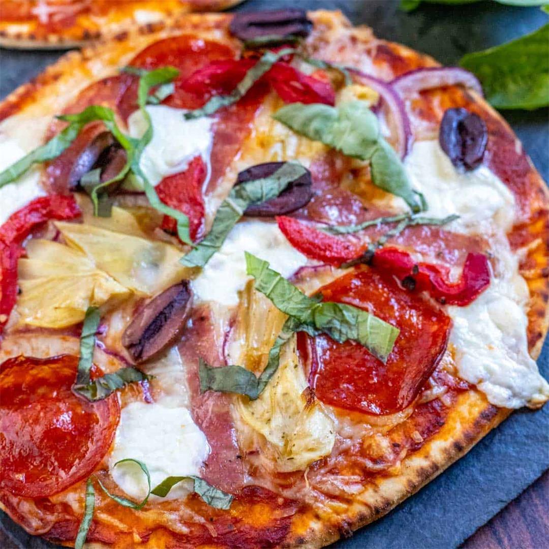 Italian Deli Flatbread Pizza Recipe