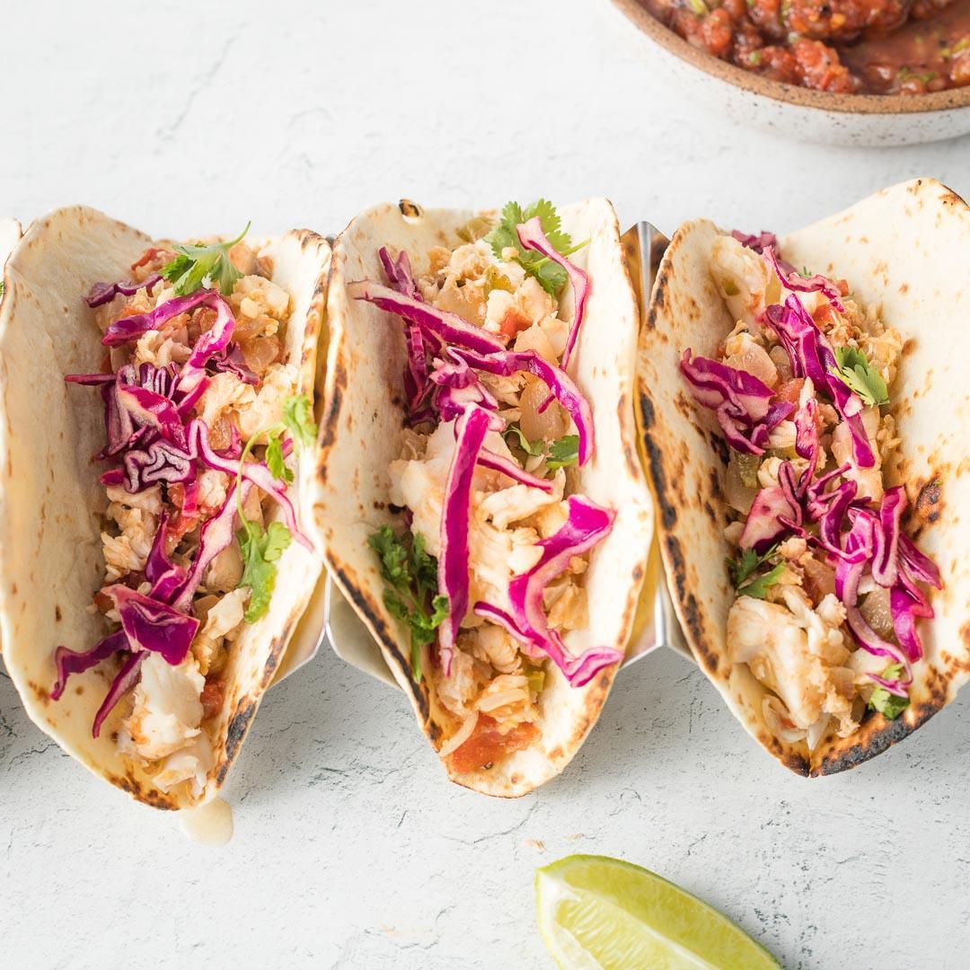 Jalapeno Lime Fish Tacos
