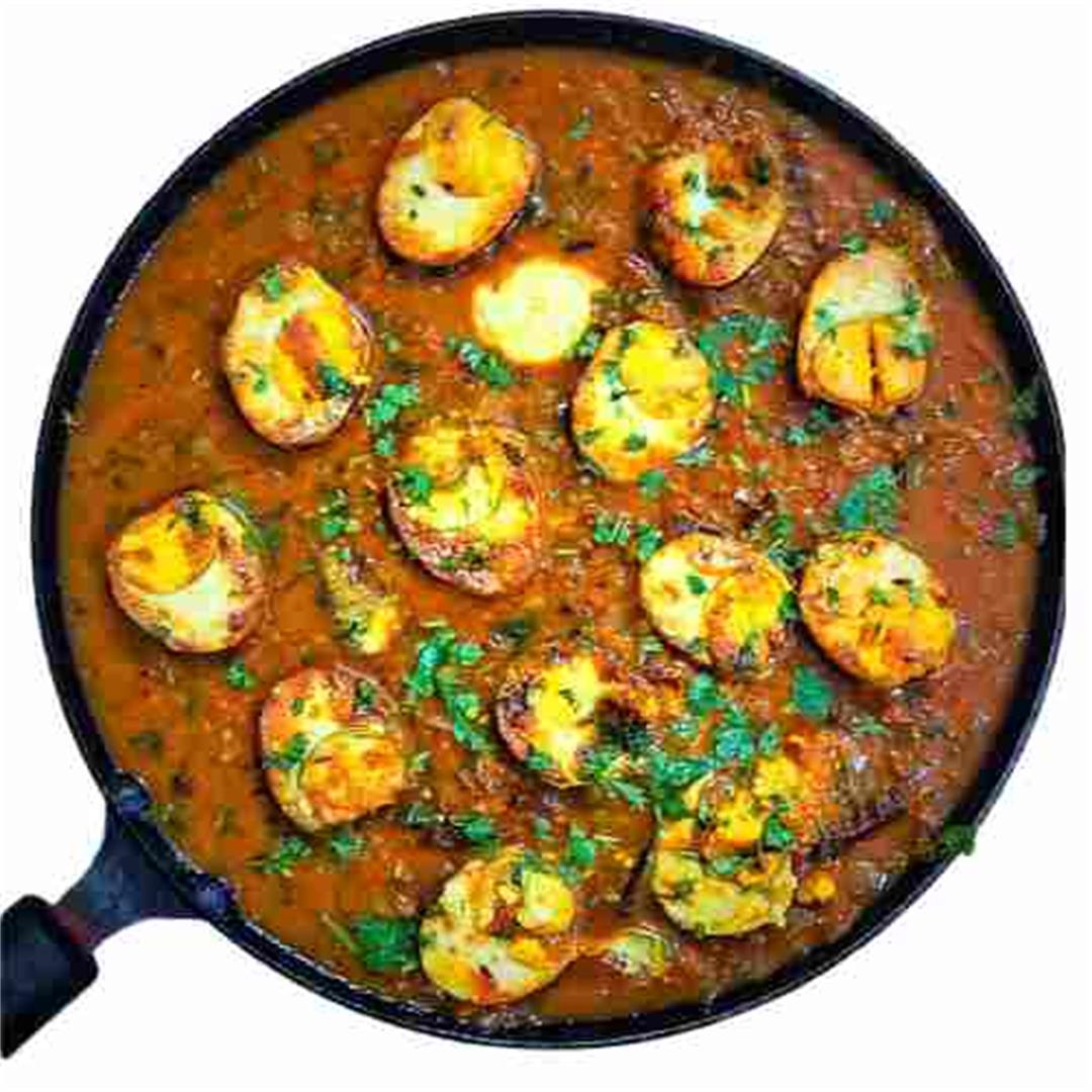 Easy Tasty Egg Curry Recipe