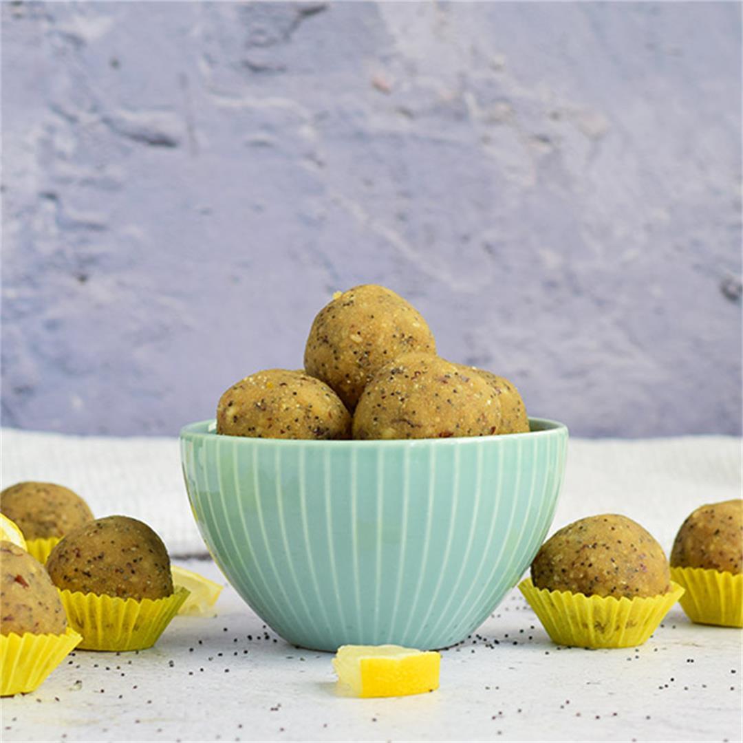 Lemon Poppy Seed Energy Balls