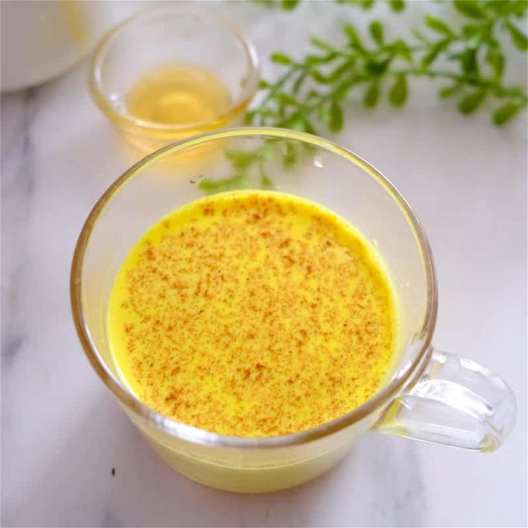 Golden Milk (Turmeric Milk)