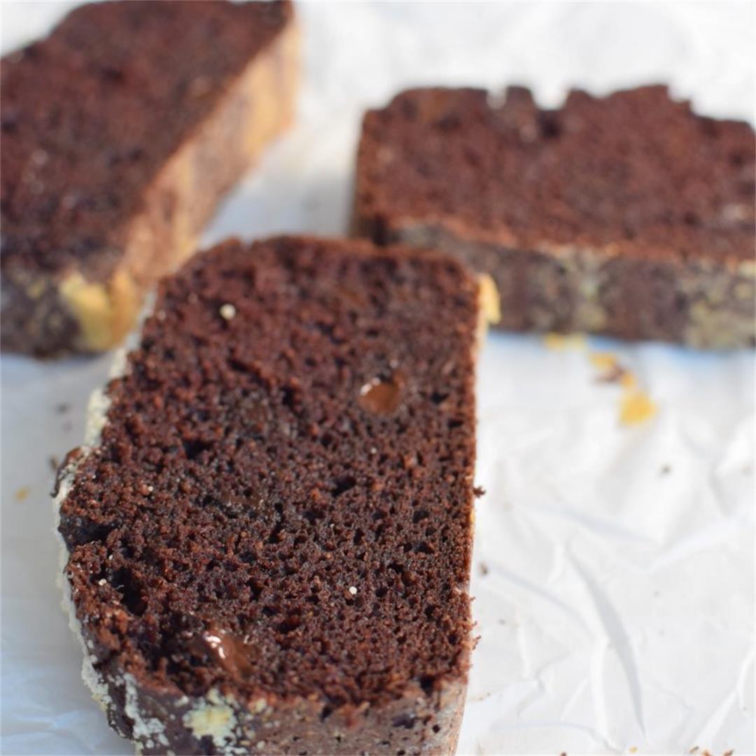 Guilt-free Chocolate Cricket Cake