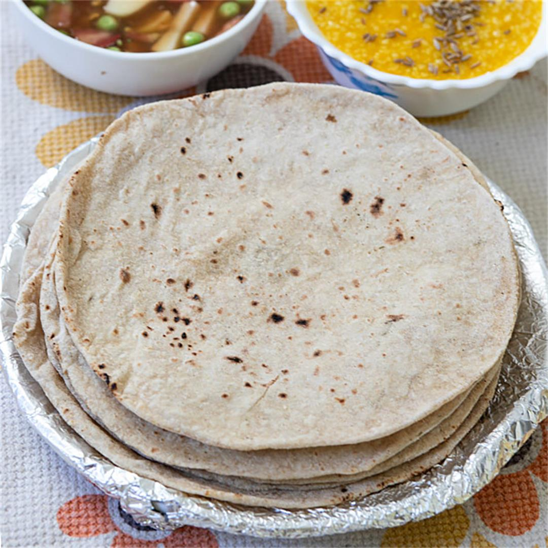 Indian Roti Flatbread