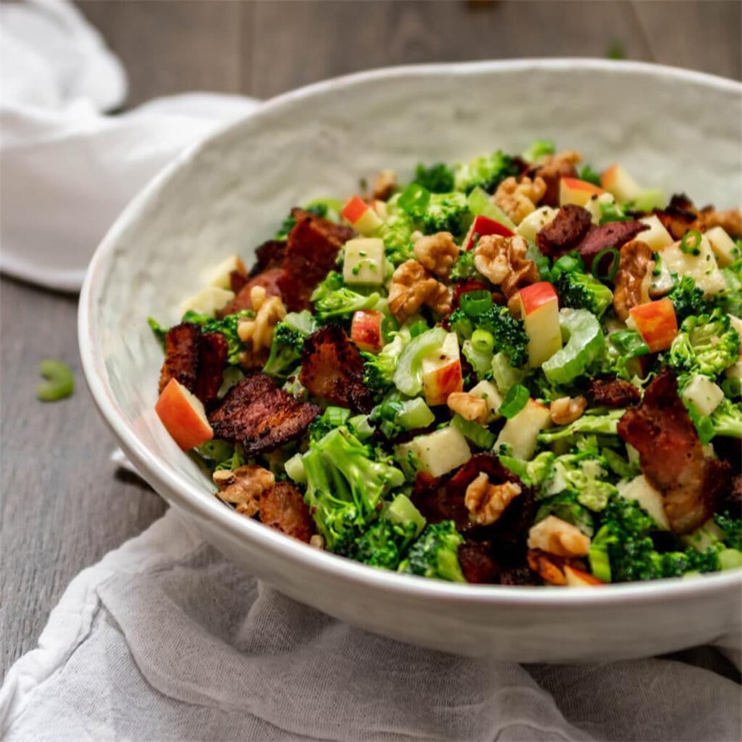Paleo Broccoli Salad — Foodborne Wellness