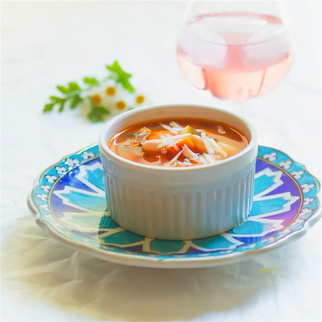 Early Summer Minestrone