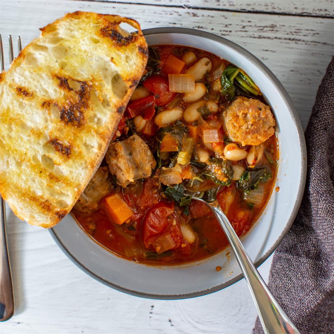 Tuscan Sausage Stew