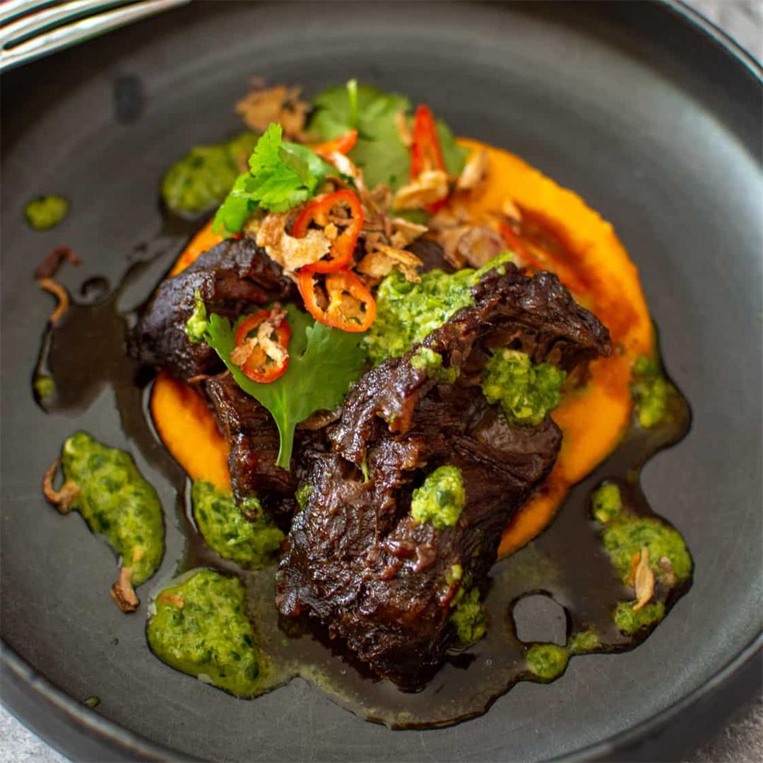Asian Slow Cooked Beef Cheeks