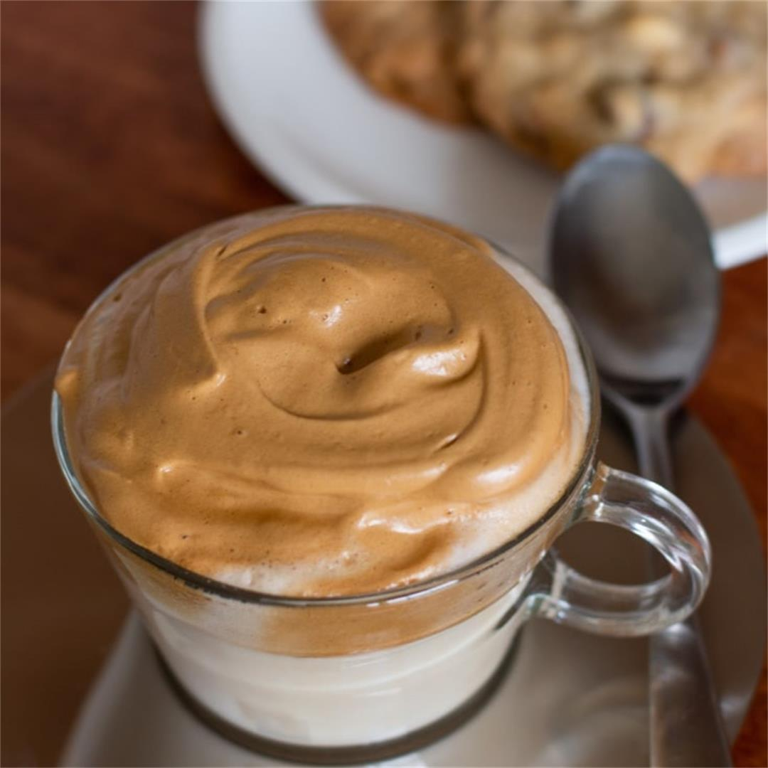 Whipped Coffee Recipe (without the work)