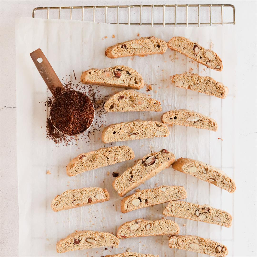 Rooibos biscotti