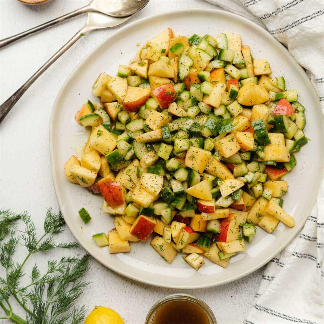 Apple and Cucumber Salad
